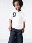 Russell White Poloshirt